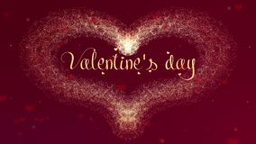 De bekentenis van de de Dagliefde van Valentite Het de Daghart van Valentine van rode wijnplons die wordt gemaakt verschijnt Dan  vector illustratie