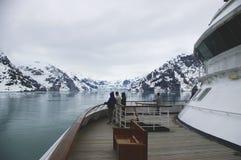 De bekijkende Fjord van de Universiteit stock afbeelding