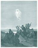 De beklimming van Jesus vector illustratie