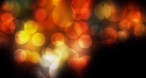 De bel bokeh vertroebelde kleurrijke achtergrond Royalty-vrije Stock Foto