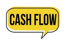 De bel van de cash flowtoespraak vector illustratie