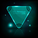 De bel van de driehoekstoespraak stock illustratie