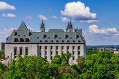 De belangrijke bouw in Ottawa Stock Fotografie