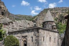De belangrijkste kerk van het klooster complexe Gegardavank Stock Foto