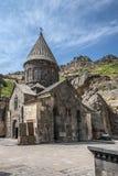 De belangrijkste kerk van het klooster complexe Gegardavank Royalty-vrije Stock Afbeeldingen