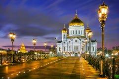 De belangrijkste Kerk van Moskou Stock Afbeelding