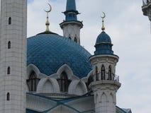De belangrijkste moskee van Kazan Kul Sharif in het Kremlin royalty-vrije stock afbeeldingen