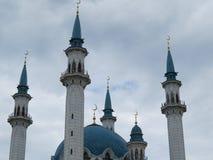 De belangrijkste moskee van Kazan Kul Sharif in het Kremlin stock foto's