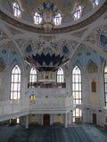 De belangrijkste moskee van Kazan Kul Sharif in het Kremlin royalty-vrije stock foto's