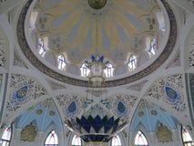 De belangrijkste moskee van Kazan Kul Sharif in het Kremlin royalty-vrije stock fotografie
