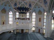 De belangrijkste moskee van Kazan Kul Sharif in het Kremlin stock fotografie