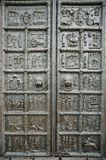 De belangrijkste poorten van de Kathedraal van Heilige Sophia Stock Afbeelding