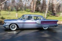 1958 de Belangrijkste Sedan van Pontiac Strato Royalty-vrije Stock Afbeelding