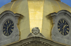 De belangrijkste uren van de stad Royalty-vrije Stock Afbeeldingen