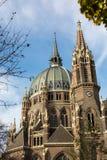 De Belegeringskerk van Maria vom, Wenen, Oostenrijk Stock Foto