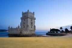 de belem Lizboński torre Fotografia Stock
