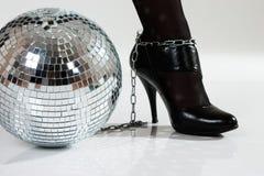 De belemmeringen van de disco stock fotografie