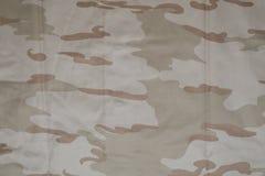 De Belgische stof van de woestijncamouflage Royalty-vrije Stock Afbeeldingen