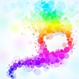 De bellen van de regenboog Royalty-vrije Stock Foto