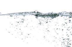 De bellen van het water Royalty-vrije Stock Foto