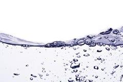De bellen van het water Stock Afbeeldingen