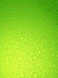De bellen van het water, groene verse achtergrond. Royalty-vrije Stock Foto