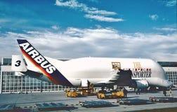 ` de beluga de ` des industries A300-605ST d'Airbus images libres de droits
