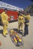 De bemanning van de Redding van de Provincie van Los Angeles stock fotografie