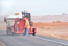 De Bemanning van de weg royalty-vrije stock foto