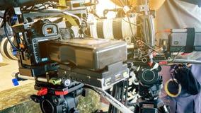 de bemanning van de filmproductie stock foto's
