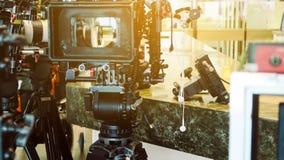 de bemanning van de filmproductie royalty-vrije stock foto