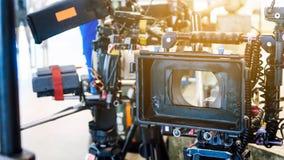 de bemanning van de filmproductie stock fotografie