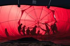 De Bemanning van de hete Luchtballon royalty-vrije stock fotografie