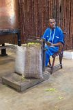 De Bemoeizieke kananga-olie, is, Madagascar Stock Foto's