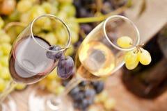 De bemonstering van de wijn Royalty-vrije Stock Afbeeldingen