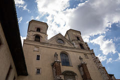 De Benedictineabdij in Tyniec (Polen) Stock Foto