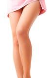 De benen van de elegante vrouw stock foto's