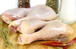 De Benen van de kip Stock Fotografie