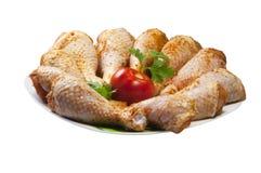 De benen van de kip met tomaat Royalty-vrije Stock Afbeelding