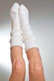 De benen van de vrouw Royalty-vrije Stock Afbeeldingen