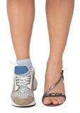 De benen van een vrouw Royalty-vrije Stock Afbeeldingen