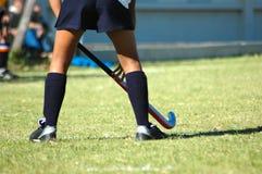 De benen van het hockey stock foto's
