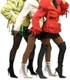 De benen van het trio Royalty-vrije Stock Fotografie
