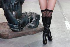 De benen van Nice Royalty-vrije Stock Foto's