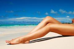De benen van vrouwen Royalty-vrije Stock Foto's