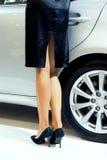De benen van Womans Royalty-vrije Stock Afbeelding