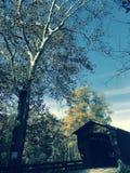 De Benetka Behandelde Brug in Ashtabula-Provincie - OHIO - de V.S. royalty-vrije stock foto