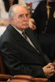 De benoeming van Xristianopoulos van Ntinos op Universiteit Stock Afbeelding