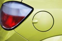 De benzinedeksel van de auto. Stock Foto's