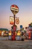 De Benzinesteeg van het loodje op historische route 66 in Missouri Stock Foto's